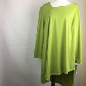 Vintage Anthony Lime Green Tunic